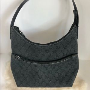 GUCCI Canvas with front zip pocket